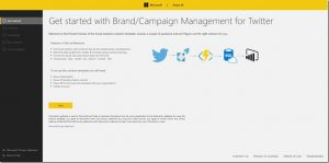 Announcing the brand & campaign management solution template for Twitter